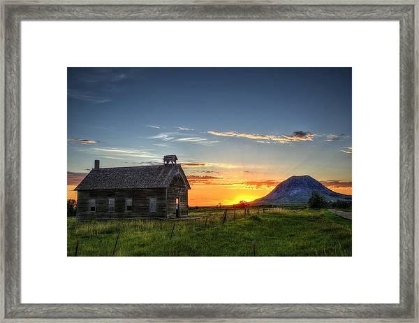 Almost Sunrise Framed Print