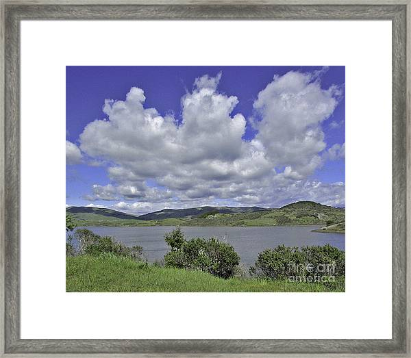 Along The Coast Highway Framed Print