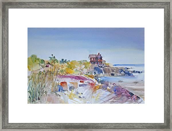 Along The Coast Framed Print