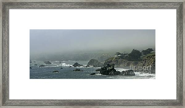 Along Route 1 Framed Print