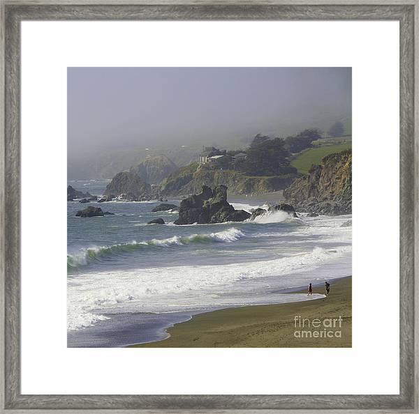 Along The Pacific #2 Framed Print