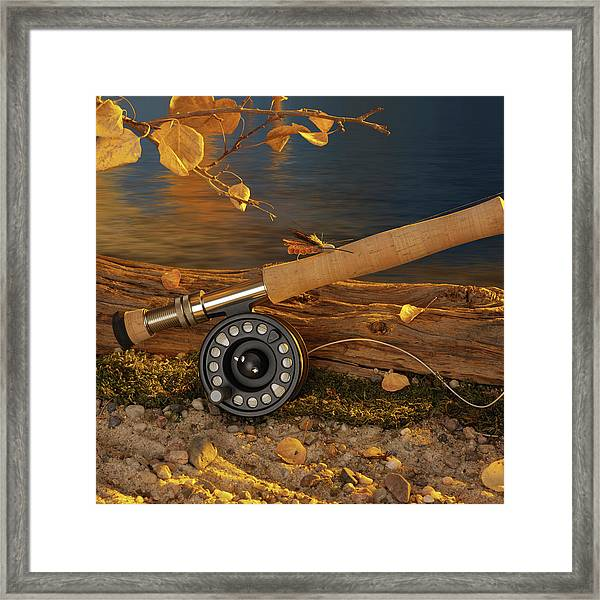 Along The River Framed Print
