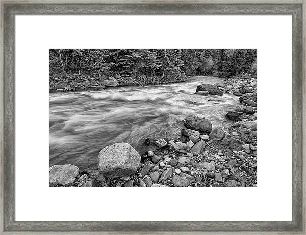 Along The Uncompaghre Framed Print