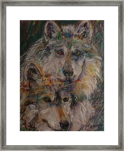 Alpha Pair Framed Print