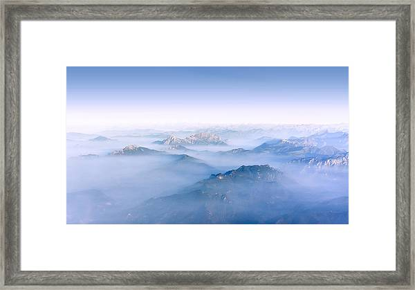 Alpine Islands Framed Print