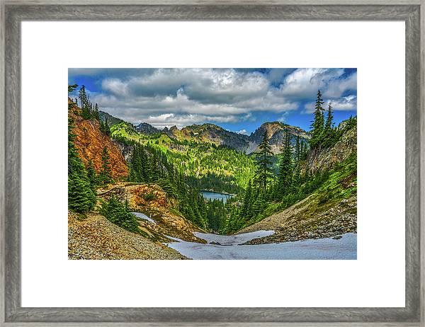 Alpine Solitude Framed Print