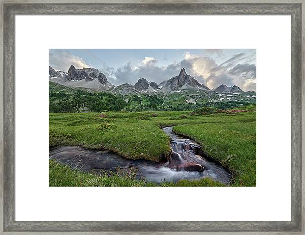 Alps In The Afternoon Framed Print