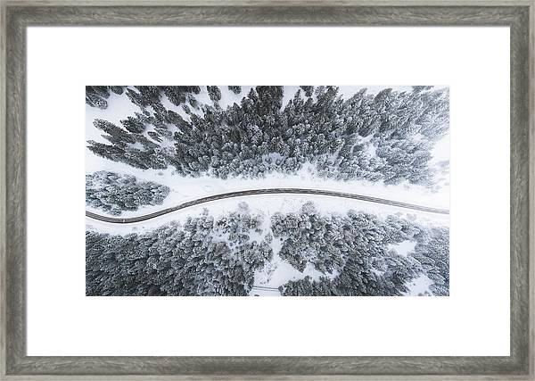 Framed Print featuring the photograph Alps Vibes by Kimon Maritz
