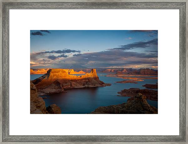 Alstrom Point Lake Powell Framed Print
