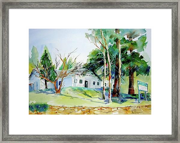 Alta/dutch Flat School Framed Print
