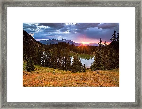 Alta Lakes Framed Print