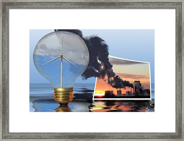 Alternative Energy Framed Print