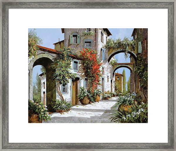 Altri Archi Framed Print