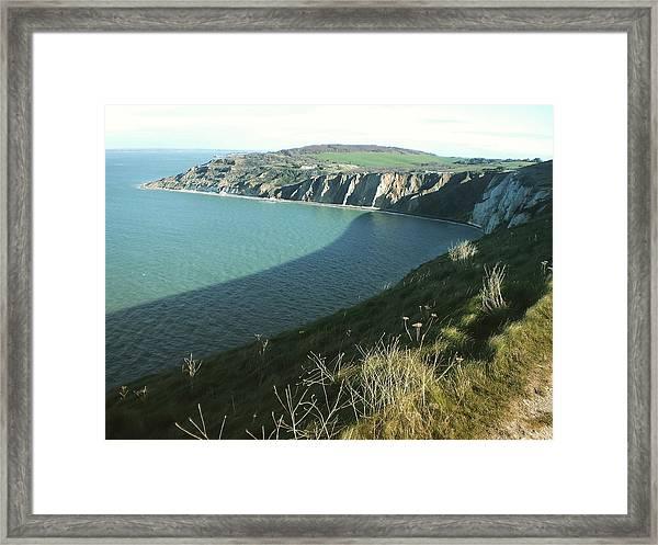 Alum Bay, Isle Of Wight Framed Print