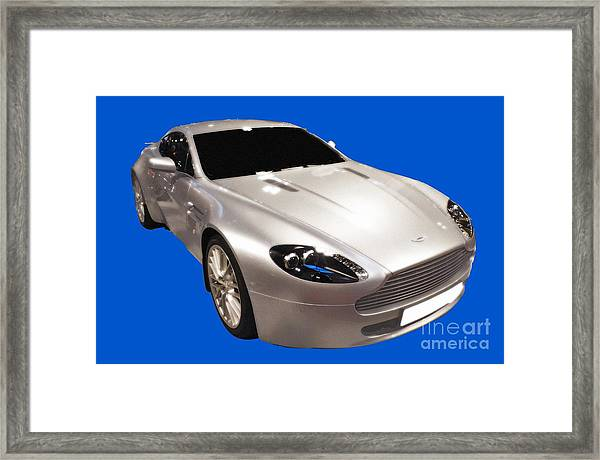Am Sports Car Art Framed Print