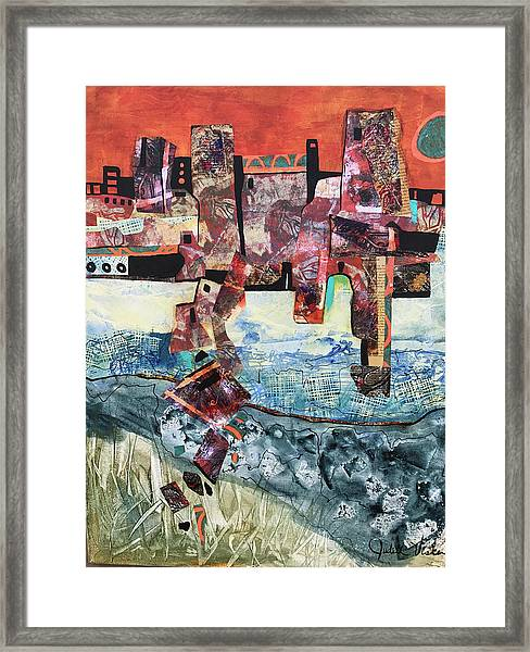 Amazing Places Framed Print