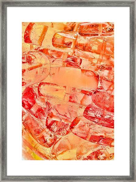 Amber #8371 Framed Print