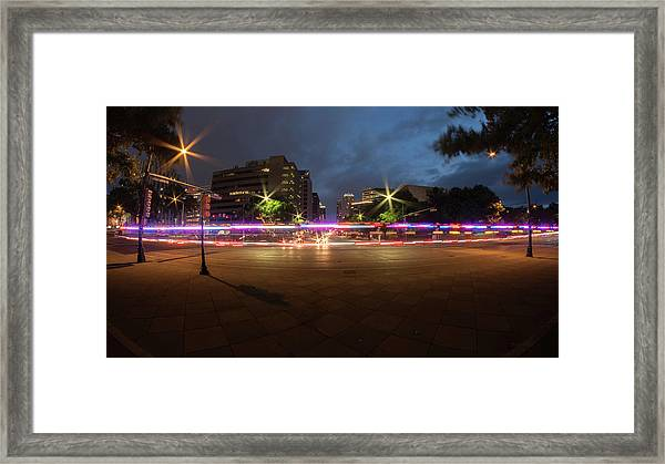 Ambulance Drive By Framed Print