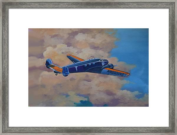 Amelia Earheart Framed Print