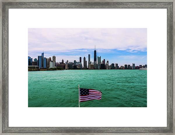 American Chi 2 Framed Print