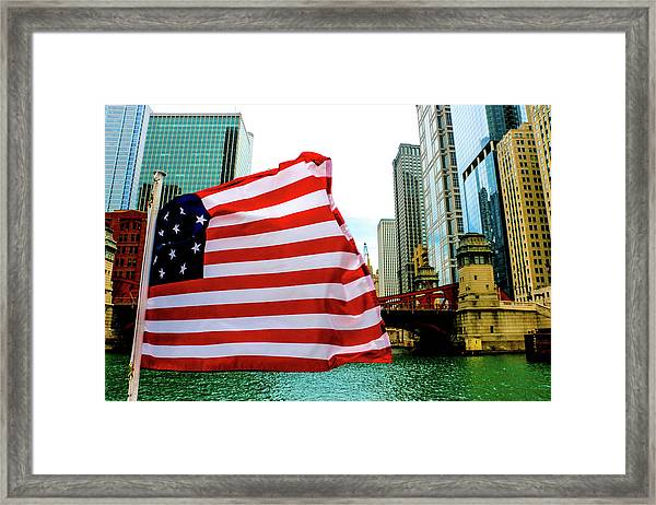 American Chi Framed Print