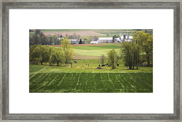 American Farmland Framed Print