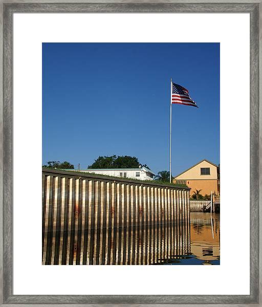 American Flyer Framed Print