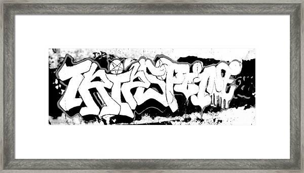 American Graffiti 1 Framed Print