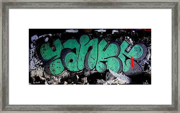 American Graffiti 10- Damn Yankees Framed Print