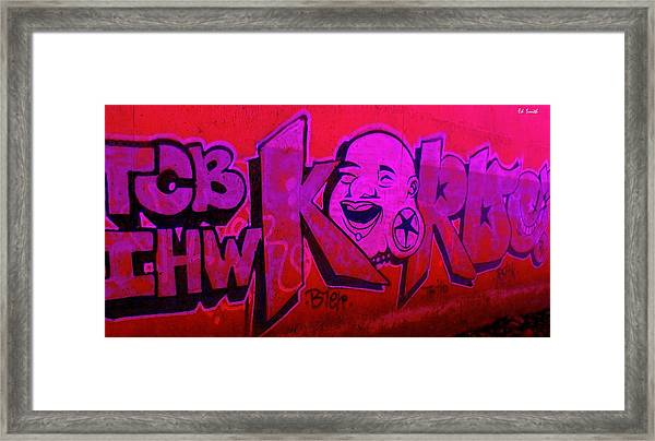 American Graffiti 7 The Star Gauger Framed Print