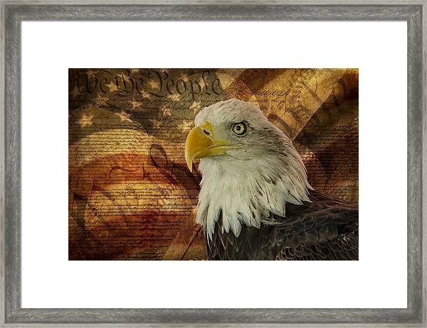 Framed Print featuring the photograph American Icons by Susan Candelario