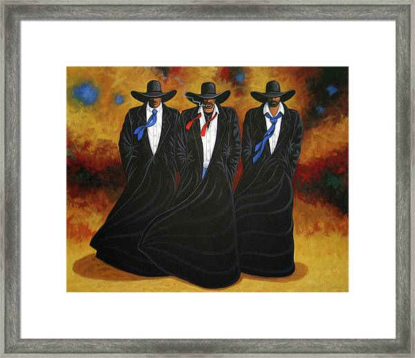 American Justice Framed Print