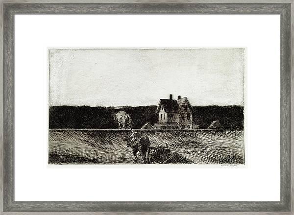 American Landscape Framed Print
