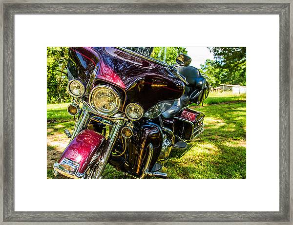 American Legend - Motorcycle Framed Print