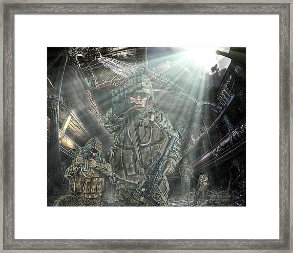 American Patriots Framed Print