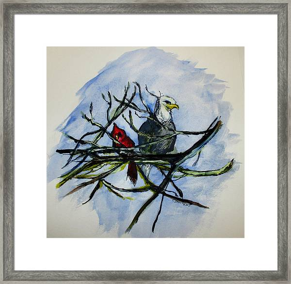 American Picture Framed Print