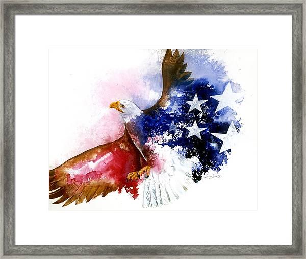 American Spirit Framed Print