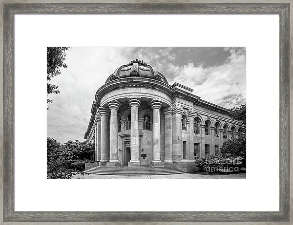 American University Mc Kinley Building Framed Print