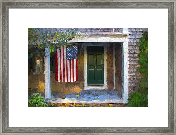 Americana Series 14 Framed Print