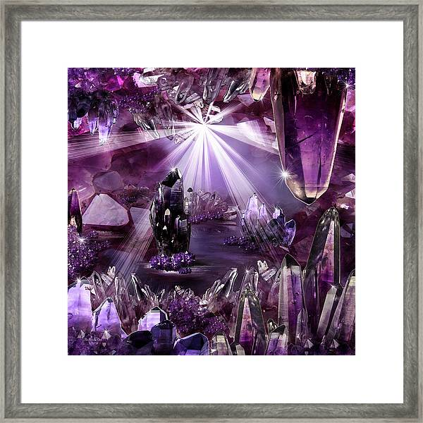 Amethyst Dreams Framed Print