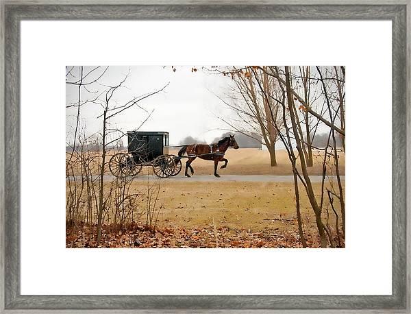 Amish Dream 1 Framed Print