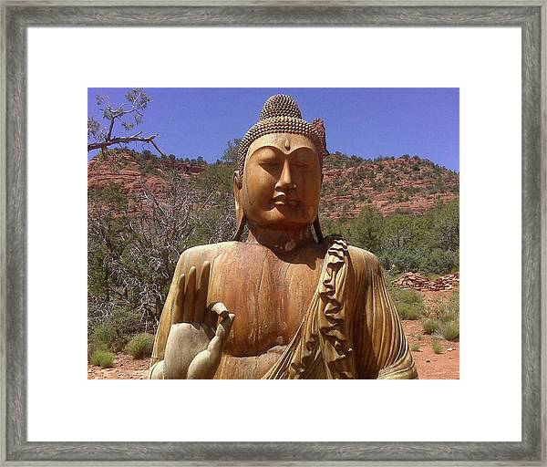 Amitabha Framed Print