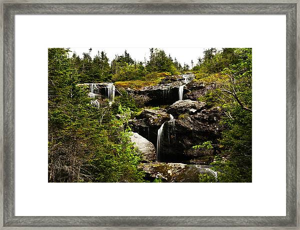 Ammonoosuc Falls Framed Print