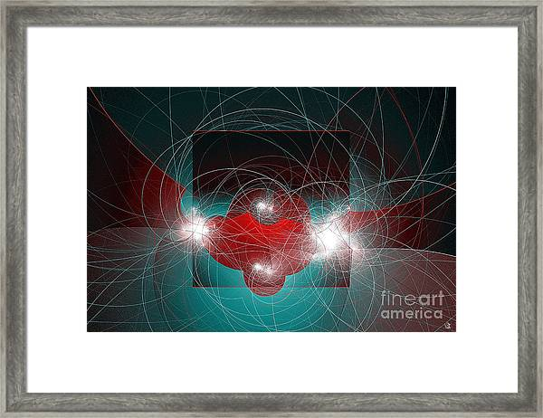Among Us Framed Print