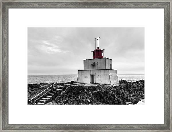 Amphitrite Point Lighthouse Framed Print