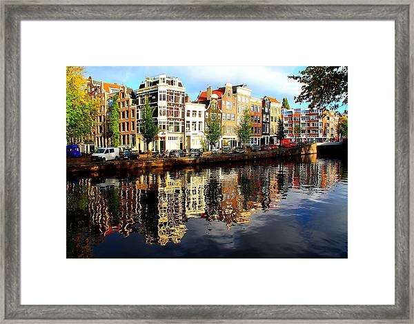 Amsterdam By Day Framed Print