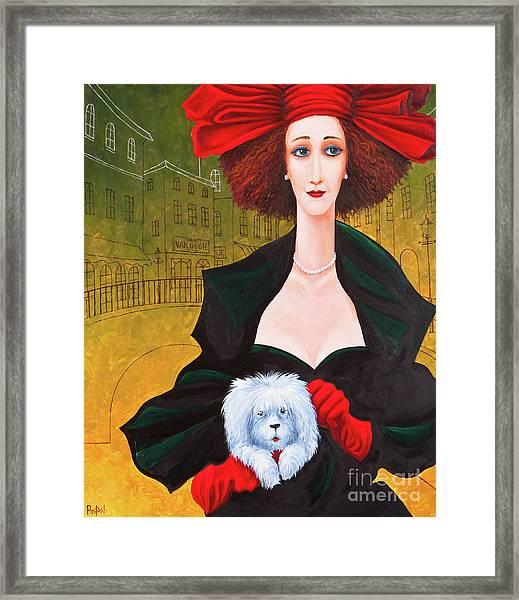 Amsterdam Georgia And Toto Framed Print