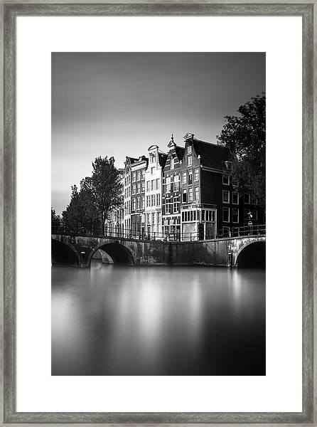 Amsterdam, Keizersgracht Framed Print