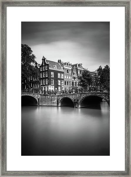 Amsterdam, Leliegracht Framed Print