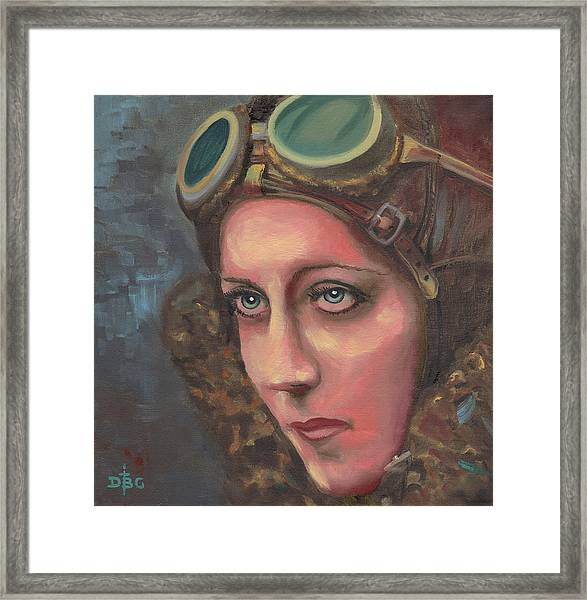 Amy Johnson Framed Print